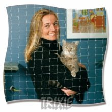 Trixie Protective Net, 2 x 1.5 M, Transparent - M Safety Nets Mass 215 Item -  trixie m transparent safety nets mass 215 item 44303 nylon monofilgarn