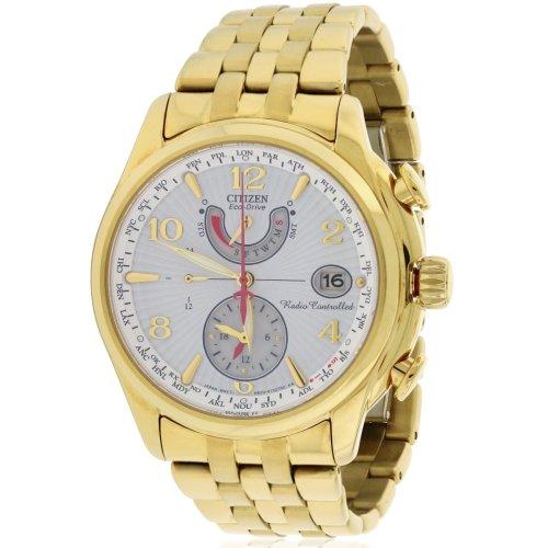 Citizen Eco-Drive Gold-Tone A-t Chronograph Ladies Watch FC0002-53A