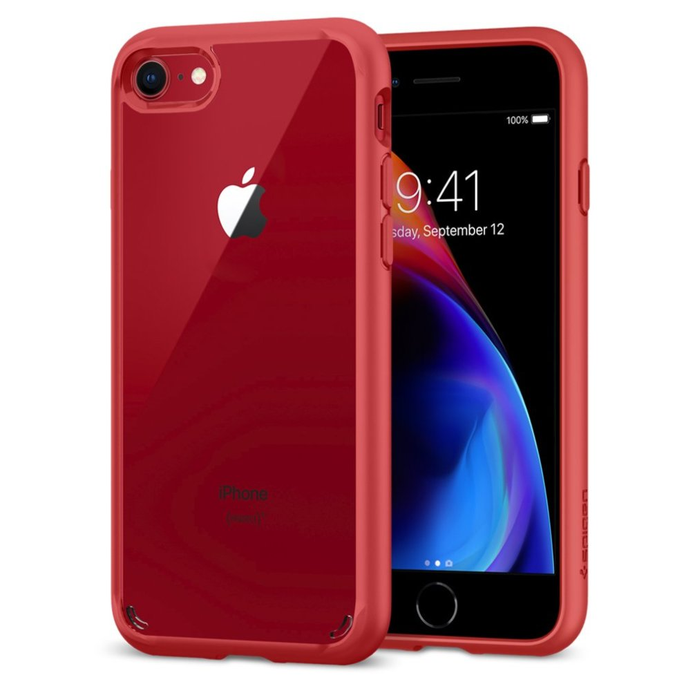 31a12cd5b2 iPhone 7 Case, iPhone 8 Case Spigen® [Ultra Hybrid] [2nd Gen] iPhone ...