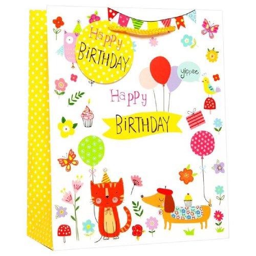 Simon Elvin Standard Juvenile Birthday Gift Bag Pack Of 6 On OnBuy