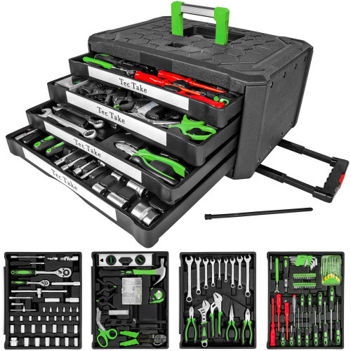 Tool box with 4 drawers 299 PCs. - black