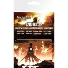 Attack on Titan Key Art Travel Pass Card Holder