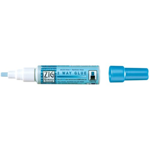 Zig 2-Way Glue Pen Bulk-Chisel Tip