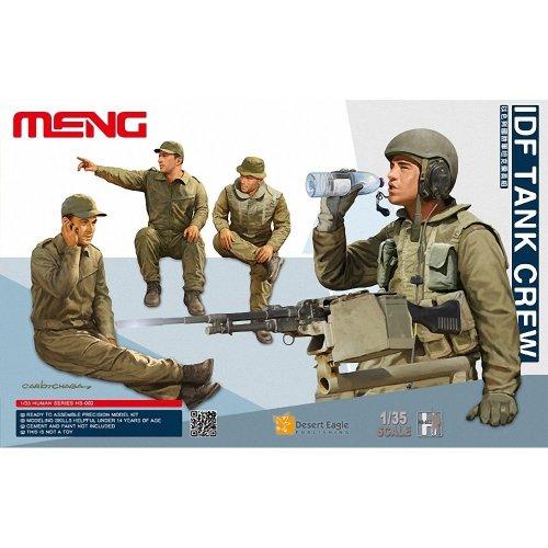 Mnghs-002 - Meng Model 1:35 - Idf Tank Crew