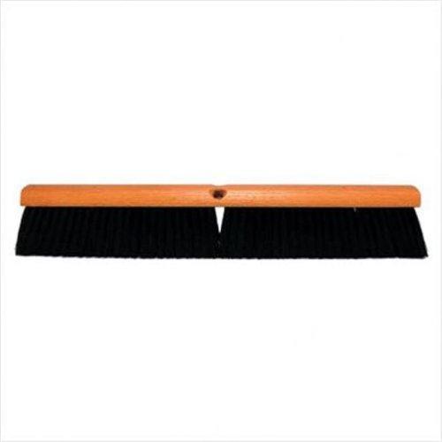 Magnolia Brush 455-1136LH 36 Inch Red & Black Plasticfloor Brush Less