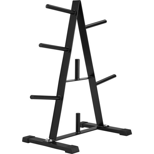 Rack for weight plates - black
