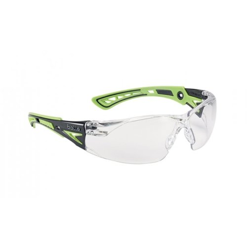 Bolle RUSH+ RUSHPPSIG Safety Glasses -  Clear Lens