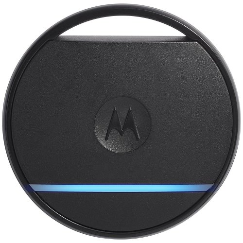 Motorola Connect Coin Bluetooth Smart Tag Key/Phone Finder/ Selfie Clicker Black