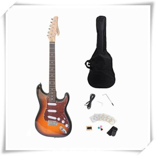 All Days Music EJ12R-SB Electric Guitar with Rosewood Fingerboard, Sunburst Gloss