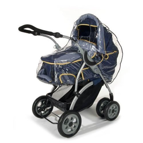 Leisure Universal Pram and Carrycot Rain Cover Large - PVC free