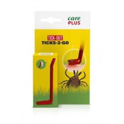 Care Plus 38396 Anti Tick Ticks-To-Go Lever Tick Remover