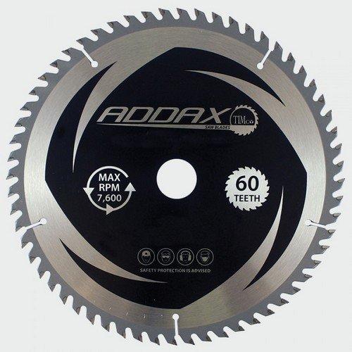 Addax C2543060 TCT Circular Saw Blade 254 x 30 x 60T