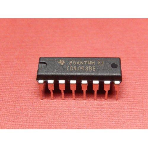 CD4043BE 4000 series CMOS TEXAS Instruments