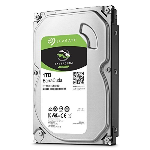 1Tb Seagate BarraCuda 7200rpm 64Mb SATA3 HardDrive