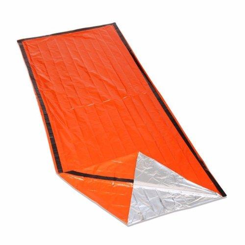 iZoeL Bivvy Bag Emergency Sleeping Bag Rescue Bag Lightweight High Vis Waterproof Reusable Must-Have for climbers mountaineers walkers