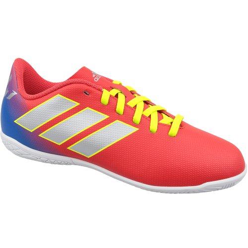 adidas Nemeziz Messi 18.4 In J CM8639 Kids Red indoor football trainers