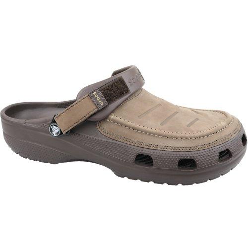 Crocs Yukon Vista Clog 205177-22Z Mens Brown slides