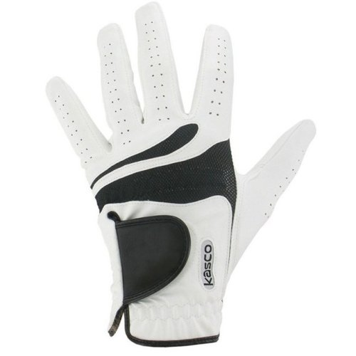 Kasco Cool Fit Golf Glove Left Hand Glove White Small