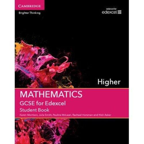 Gcse Mathematics for Edexcel Higher Student Book