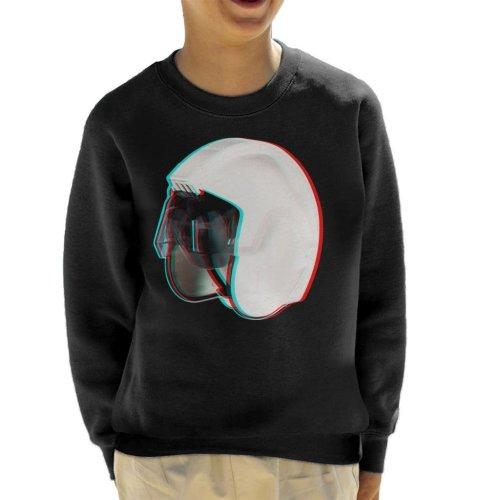 Original Stormtrooper Rebel Pilot Stunt Helmet 3D Effect Kid's Sweatshirt