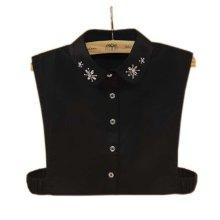 Elegant Women's Fake Half Shirt Blouse Collar Detachable Collar, #09