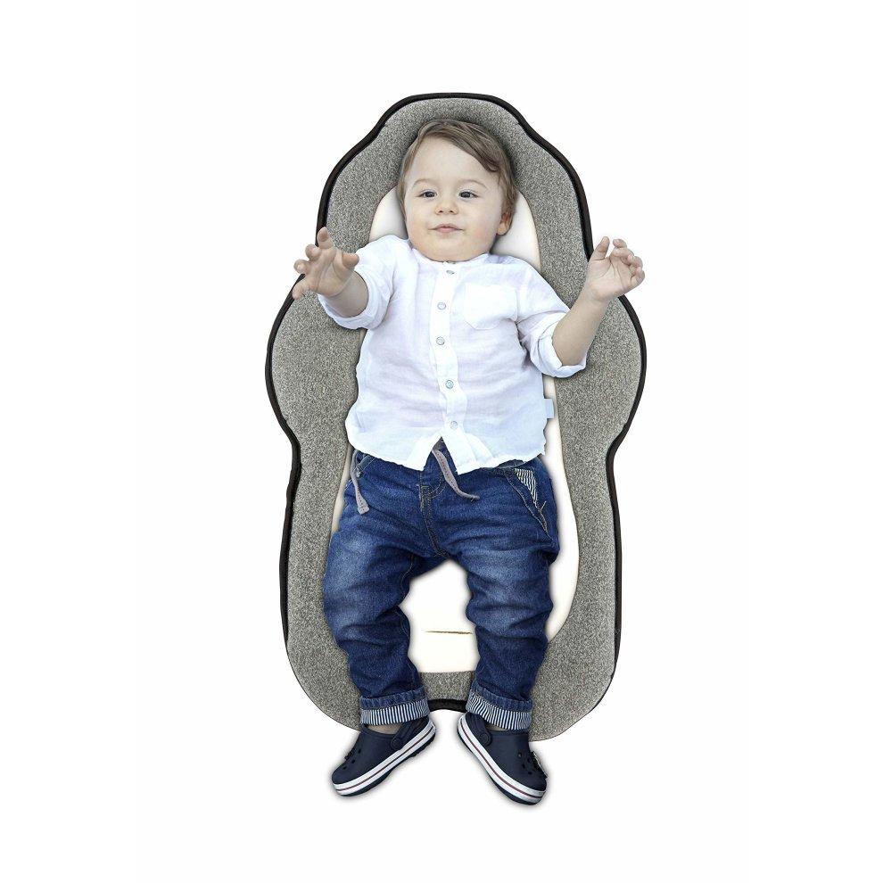 Ganen Baby Cozycushion Sleeping Cushion Head And Body Support Cushion Stroller And Car Seat Comfort Pad
