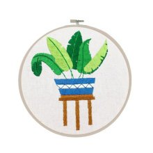 Embroidery Kit DIY Embroidery Gifts Set Home Office Decor
