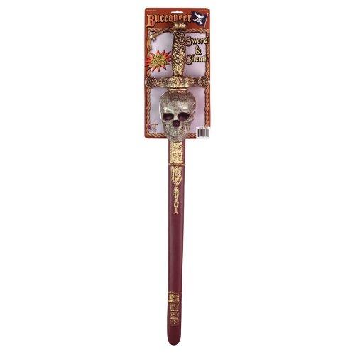 Buccaneer Sword + Sheath (Skull)