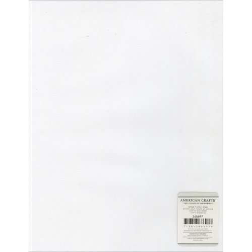 "American Crafts Specialty Vellum Sheet 8.5""X11""-48lb, Clear"