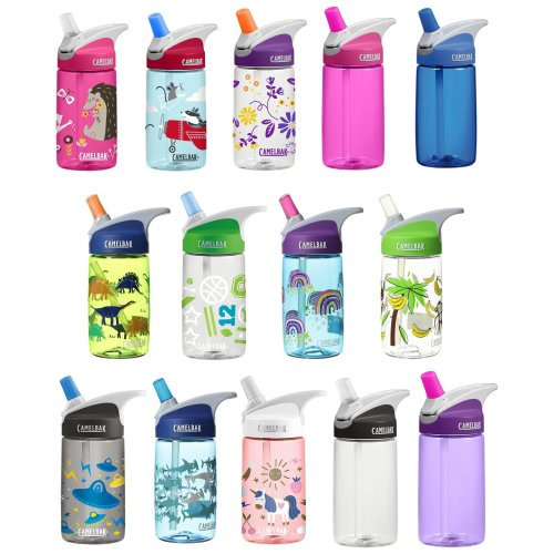 Camelbak Eddy Kids 400ml/12oz spill proof water bottle new designs BPA free