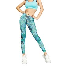Beautiful Printing Sports Running Fitness Trousers Yoga Pants for Women, #01
