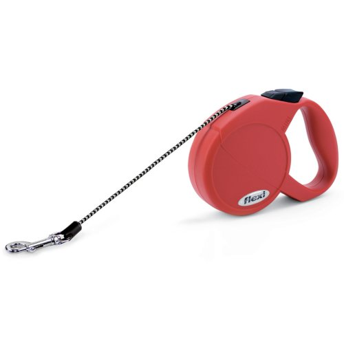 Flexi Cat Cord Red Extra Small 8kg - 3m (10ft)