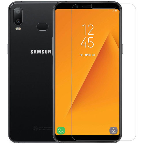 iPro Accessories Galaxy A6S Screen Protector, Galaxy A6S Tempered Glass, [Compatible With Galaxy A6S Case] [Scratch Proof] [Shatter Proof] [9H Hardness]