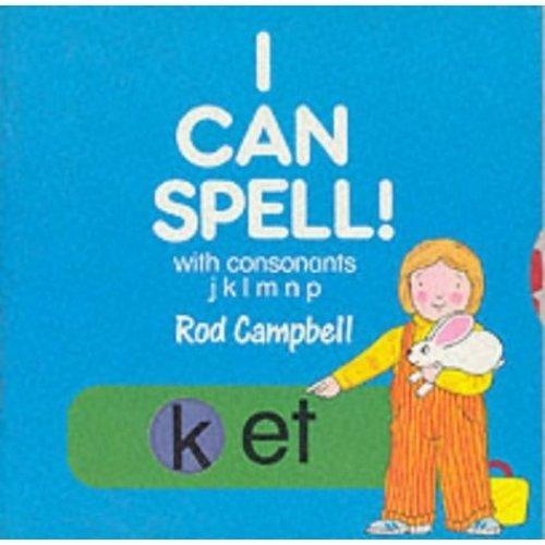 I Can Spell!: With Consonants jklmnp