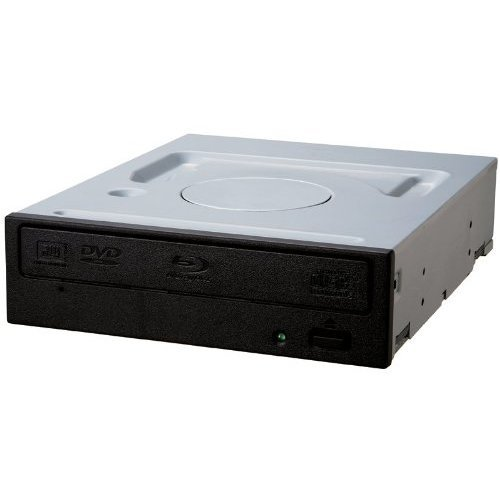 Pioneer BDR-209DBK 16x SATA Internal BD/DVD/CD Burner - No Software - Grey/Black