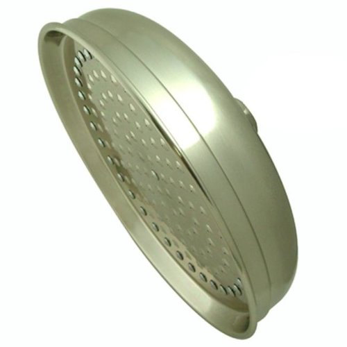 Kingston Brass K125A8 10 Inch Diameter Brass Rain Drop Shower Head - Satin Nickel