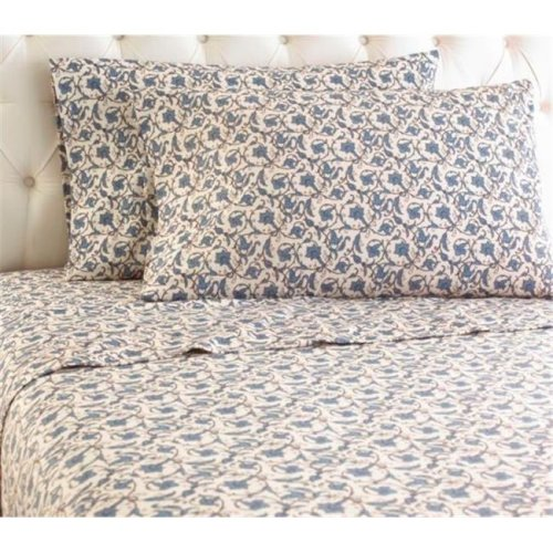 Shavel MFNSSTWJCB Micro Flannel Jacobean Twin Sheet Set