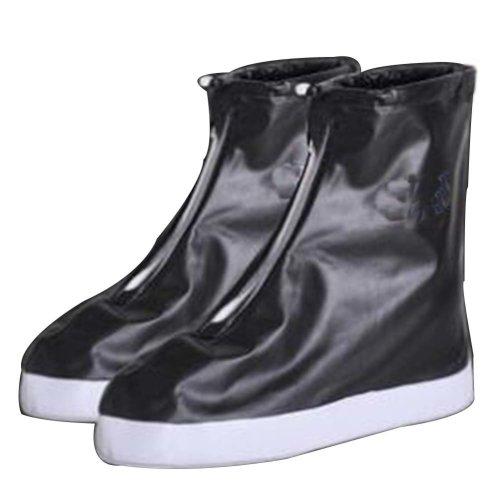 Rain Shoe Cover  Non-slip Wear  Shoe Cover Waterproof [black]