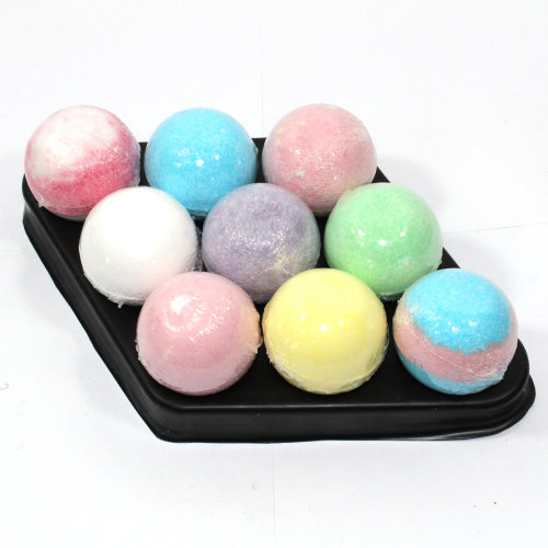 Bath Bombs Bee Free No petals Diamond - 9 x 65g bath bombs