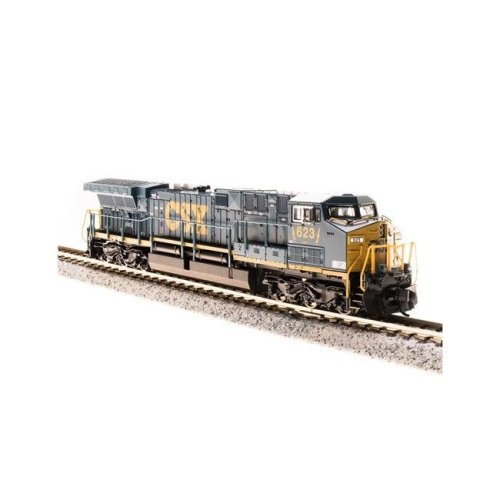 Broadway Limited Imports BLI3747 N Scale GE AC6000CW with Paragon3 Sound, CSX Model Train - No.5011