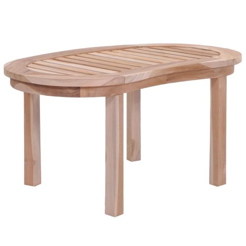 vidaXL Solid Teak Coffee Table 90x50x45cm Home Living Room Furniture Stand