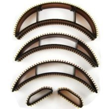 Hair Volumising Clip Inserts -  hair volumising 5 inserts bumpit bumpits brown x lift