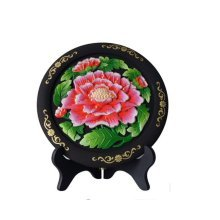 Decorative Crafts Chinese Style Home Decor?Hibiscus )