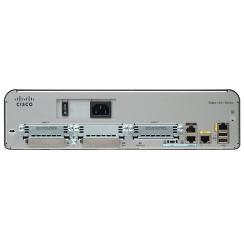 Cisco 1941 Ethernet LAN Silver wired router