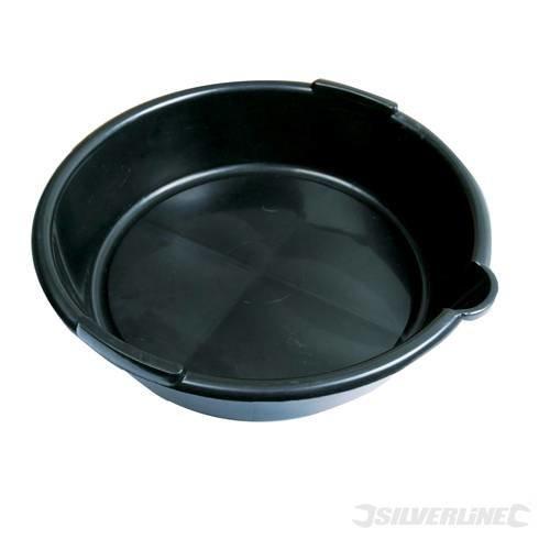 Silverline Oil Drain Pan 6ltr - 675089 Litre -  oil drain pan silverline 6ltr 675089 litre