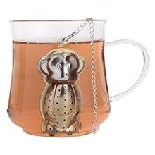 Cute Creative Stainless Steel Tea Strainer Tea Tea Bag Tea Filter Follicular