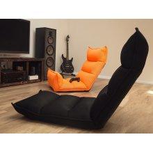 Neon Orange Floor Recliner Chair BALKA