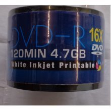 Aone DVD-R 4.7gb 120min 16x White Printable