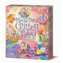 Glitter Fairy Mould & Paint Kit