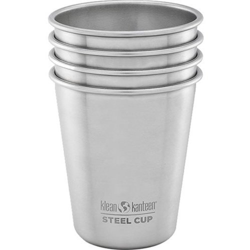 Klean Kanteen 296ml Stainless Steel Cup (Pack of 4)